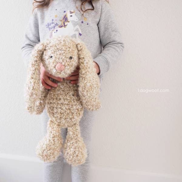 Adorable Chunky Easter Bunny Pattern