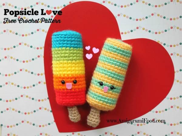 Crochet Summer Popsicles
