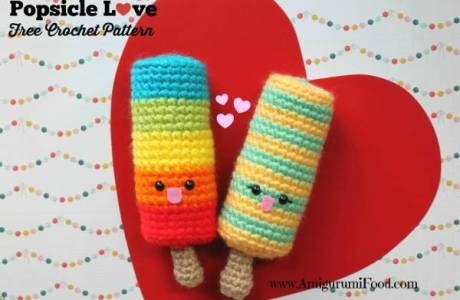 Crochet Summer Popsicles