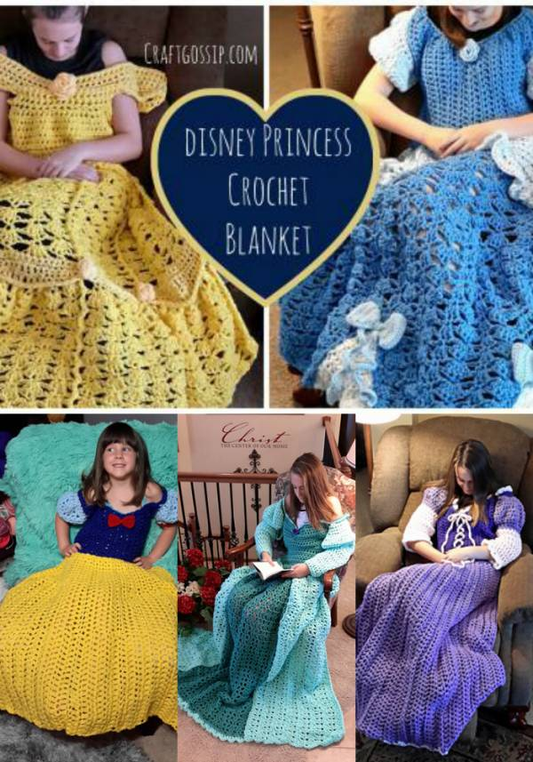Blanket Crochet With Arms
