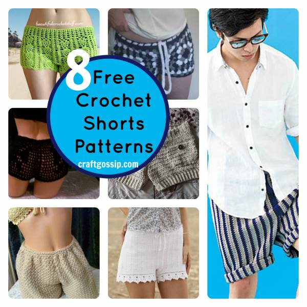 8 Summer Crochet Shorts Patterns Crochet