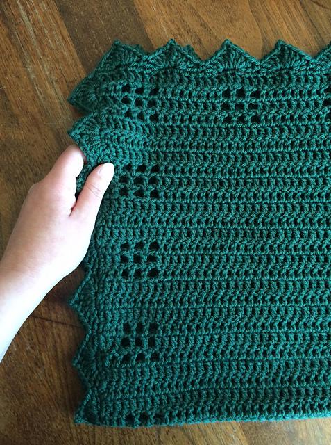 Crochet Muskoka Cabin Baby Blanket Crochet