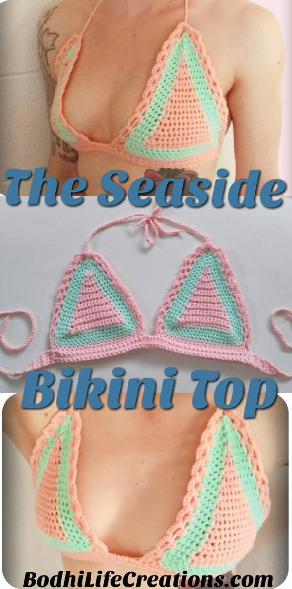 Cutie crochet bikini tutorial