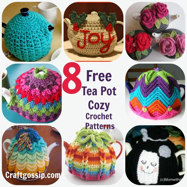 8 Crochet Tea Cozies Patterns Crochet