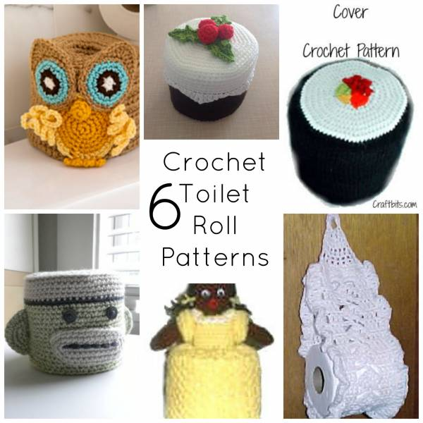 How to Crochet a Toilet Paper Roll Cover – Free Crochet Pattern ... | 600x600