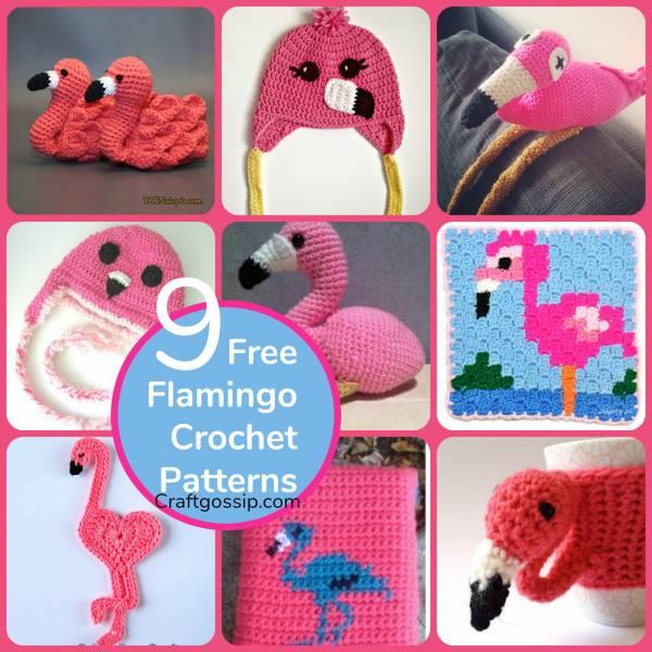 9 Flamingo Crochet Patterns
