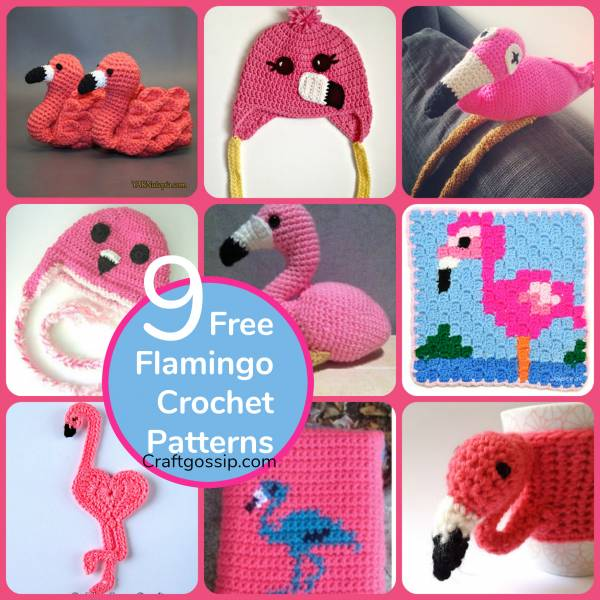 9 Flamingo Crochet Patterns Crochet