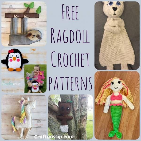 Ragdoll Style Crochet Patterns