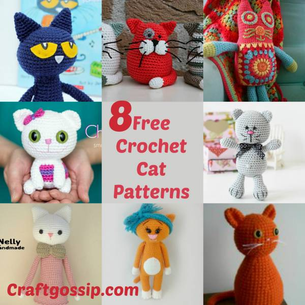 Crochet Pattern Crazy Crochet Cats