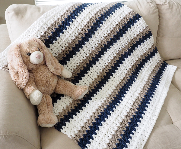 Make It In One Day Baby Blanket Crochet