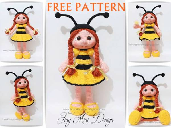 Crochet Pattern Bumble Bee