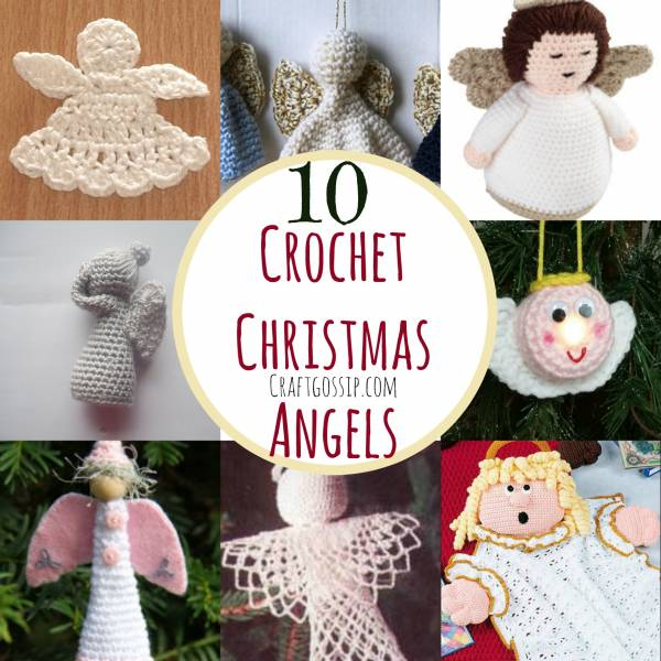 10 Christmas Angel Crochet Patterns