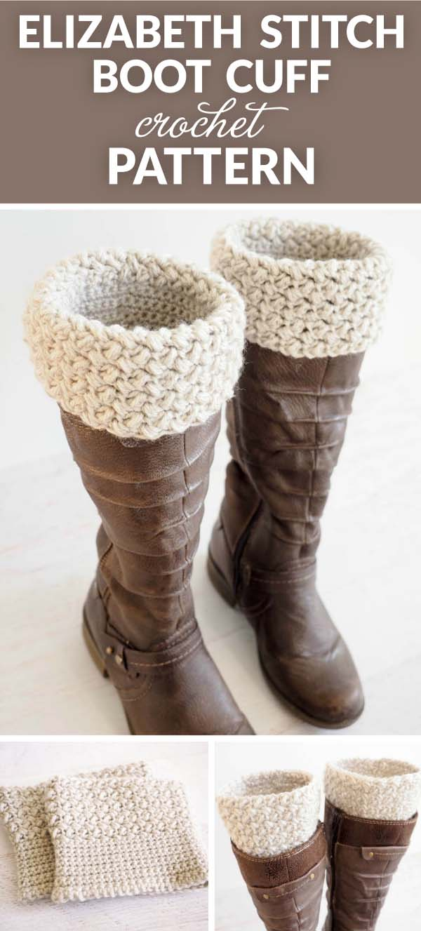 Boot cuff free crochet pattern crochet more crochet free pattern celebration boot cuffs bankloansurffo Images