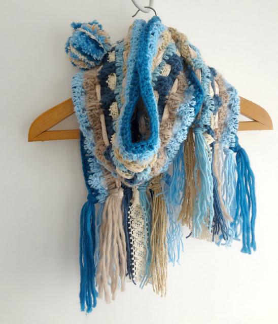 Boho Scarf Crochet Pattern Crochet
