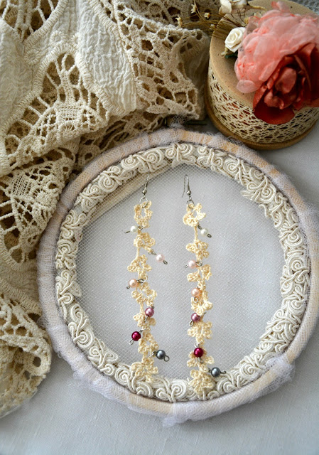 Dangling Crochet Flower Earrings You Can Make At Home