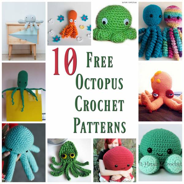 Ernest the Amigurumi Octopus | PDF Crochet Pattern – AiraliDesign | 600x600