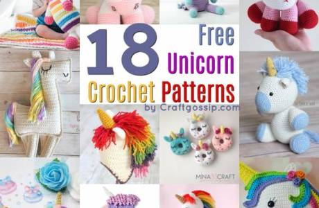 18 Free Unicorn Crochet Patterns