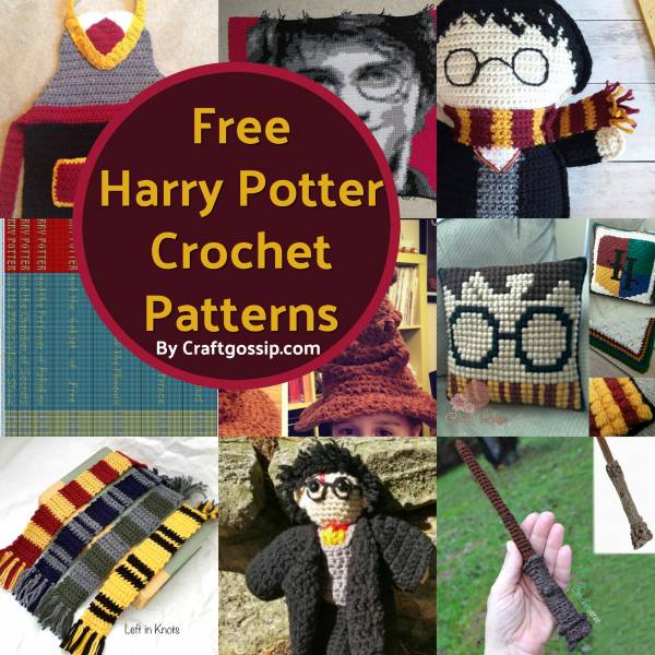 Free Harry Potter Crochet Patterns – Crochet 44477f4c88b