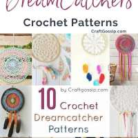 10 Free Crochet Dreamcatcher Patterns