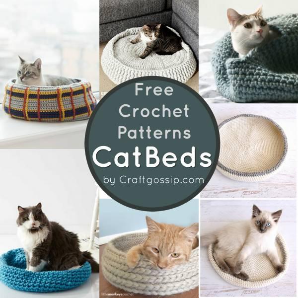 Crochet Your Own Cat Bed Crochet