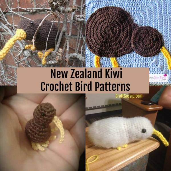In Honor Of The Victims – New Zealand Kiwi Crochet Bird Patterns