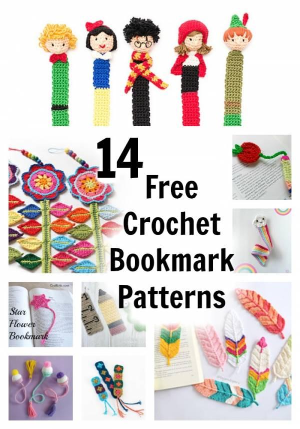 Elephant Bookmark crochet pattern - Allcrochetpatterns.net | 857x600