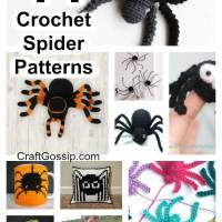 14 Spider Themed Crochet Patterns