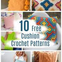 10 Free Crochet Cushion Pillow Patterns