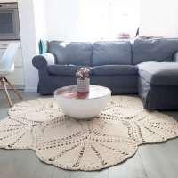 Crochet Boho Rug Pattern