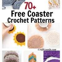 70+ Free Crochet Coaster Patterns