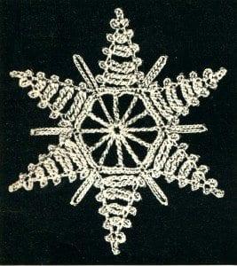 Vintage Snowflake Crochet Pattern