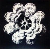 fourth wheel irish crochet