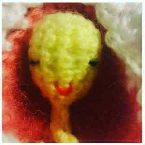 crochet baby head