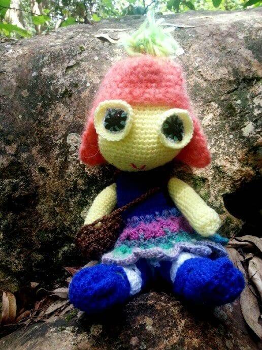 crochet amigurumi doll free pattern amigurumi doll free crochet pattern