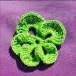 crochet violet free pattern