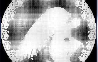 angel praying crochet filet pattern