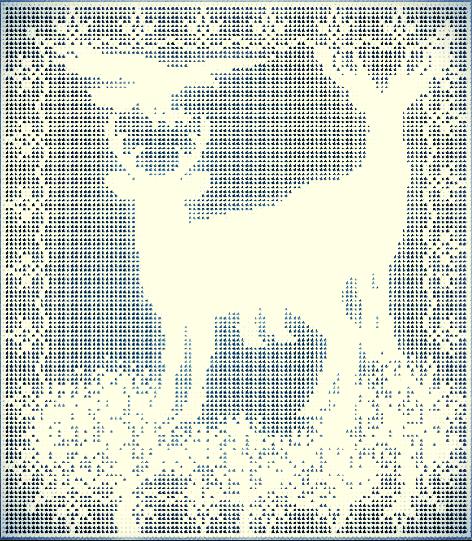 Reindeer Totem