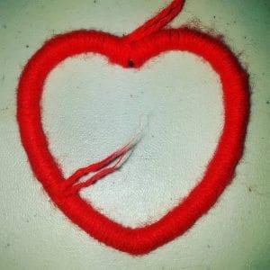 heart shaped crochet