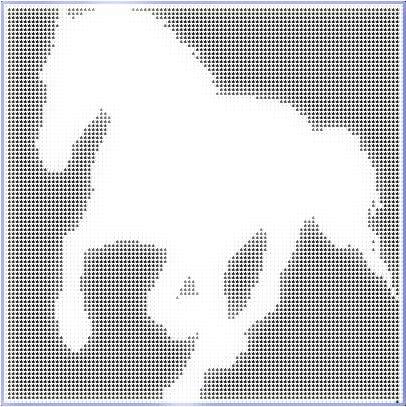 Filet Crochet Horse Pattern – How to Crochet