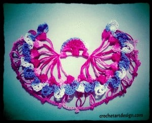hairpin crochet half circle free crochet pattern