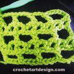 bar and lattice crochet stitch crochet bar and lattice stitch