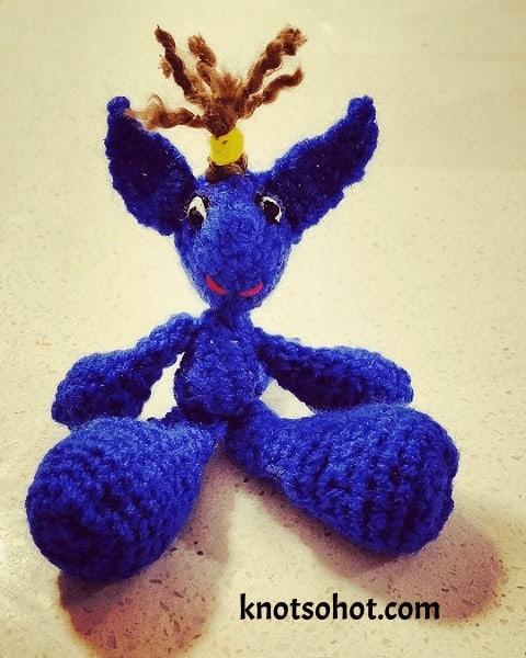 baby kangaroo crochet pattern