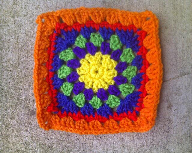 Crochet Square E-3