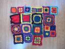 multicolor crochet granny squares crochet squares