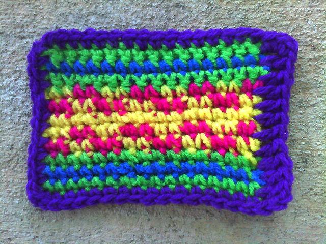 crochet rectangle for a crochet blanket