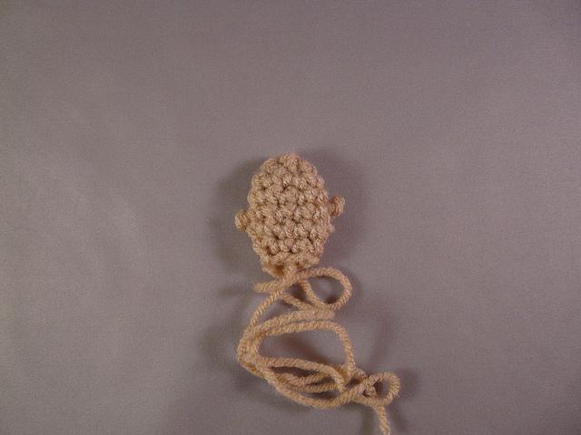 crochet doll parts