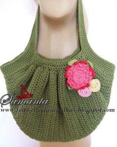 crochet fat bag
