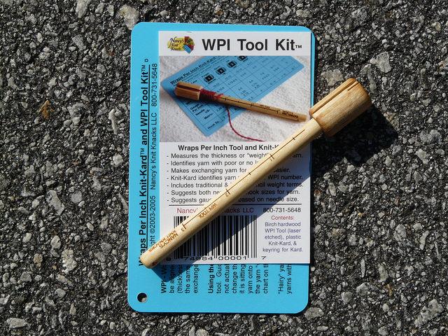 wraps per inch, crochetbug, wpi, yarn weight