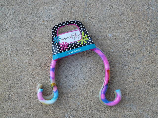 psychedelic purse handles