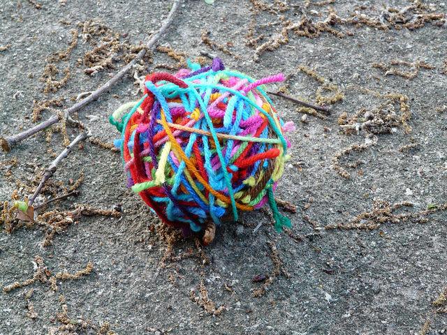 crochetbug, magic yarn ball, scrap yarn aesthetic, scrap yarn crochet, multicolor crochet